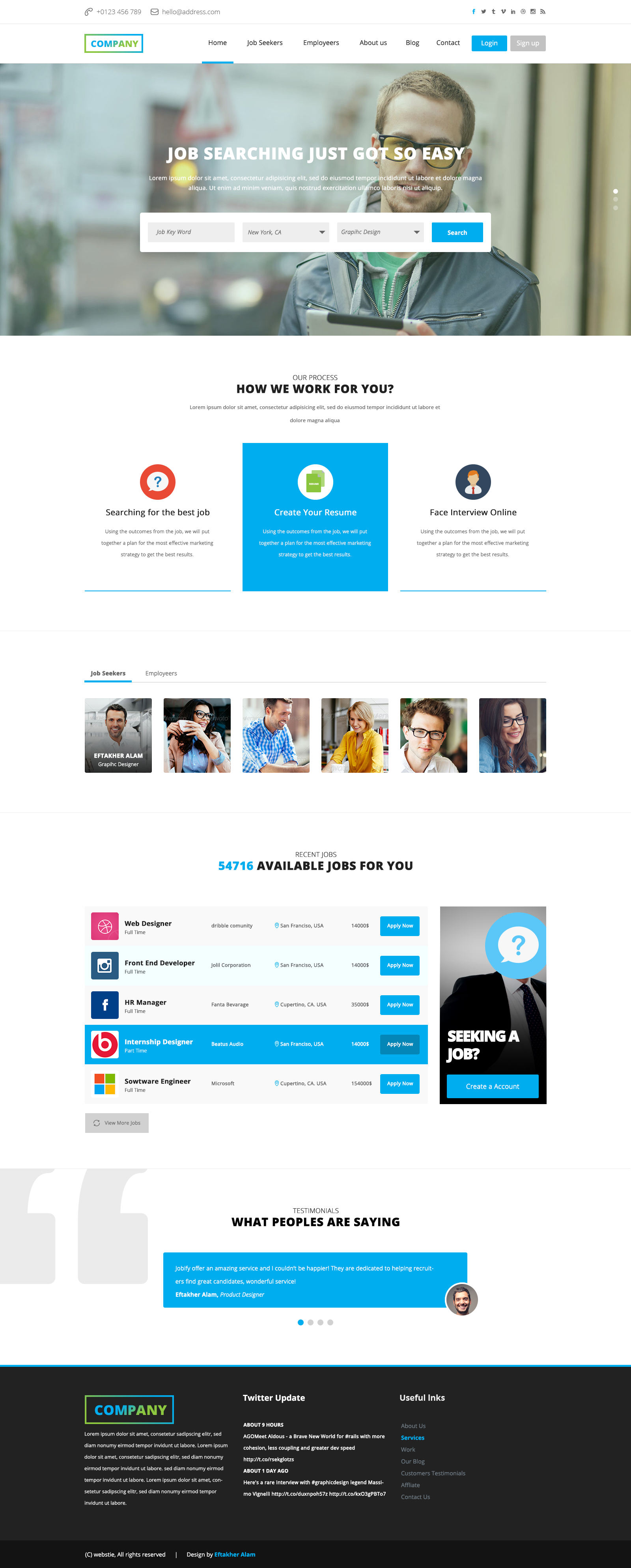 job board web template deeziner job board web template 18 2015 board bie job psd
