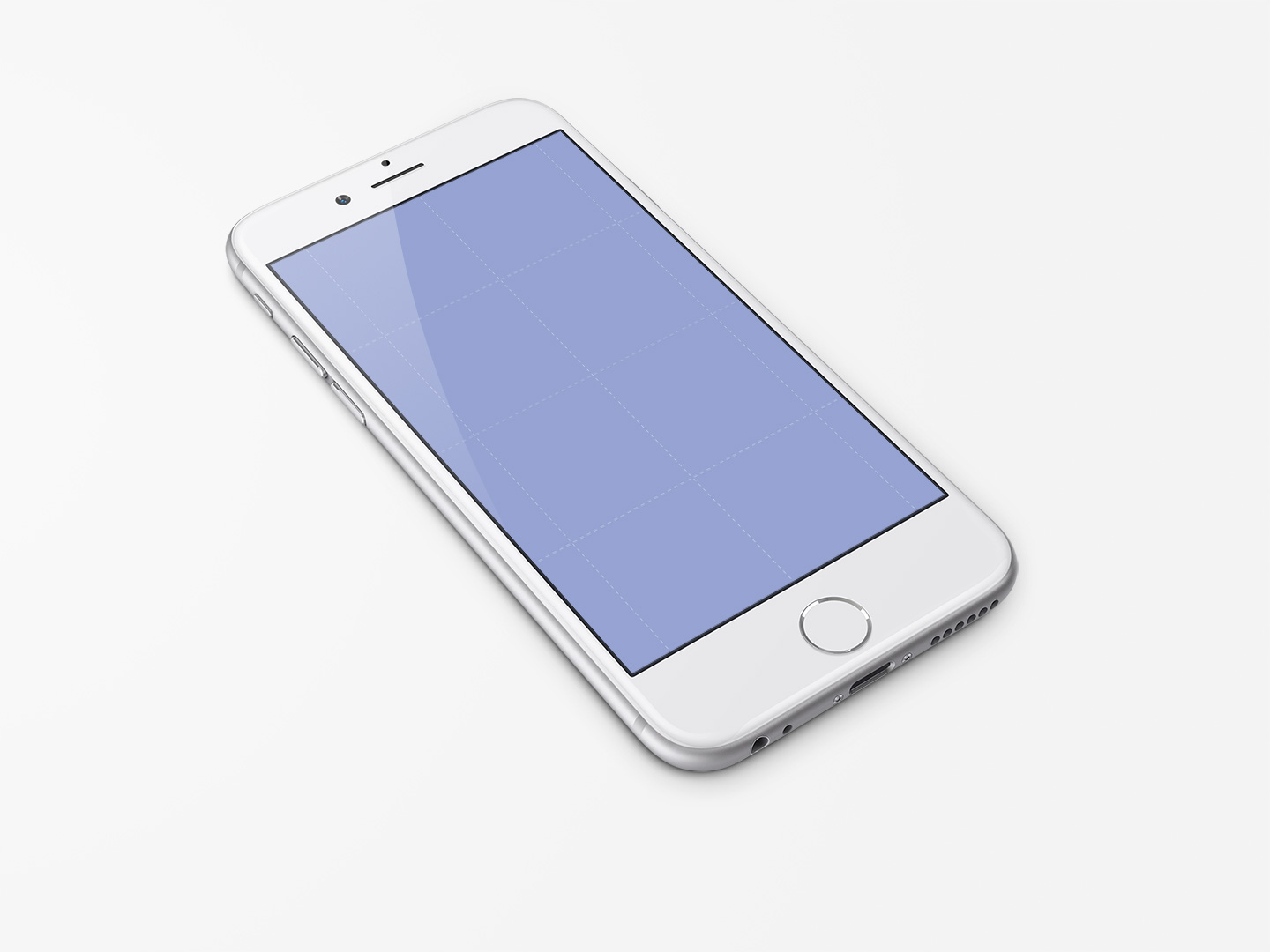 iPhone 6 PSD Mockup Template