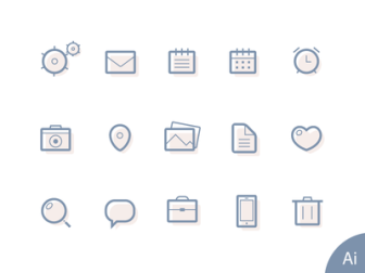 Free Lined Icons