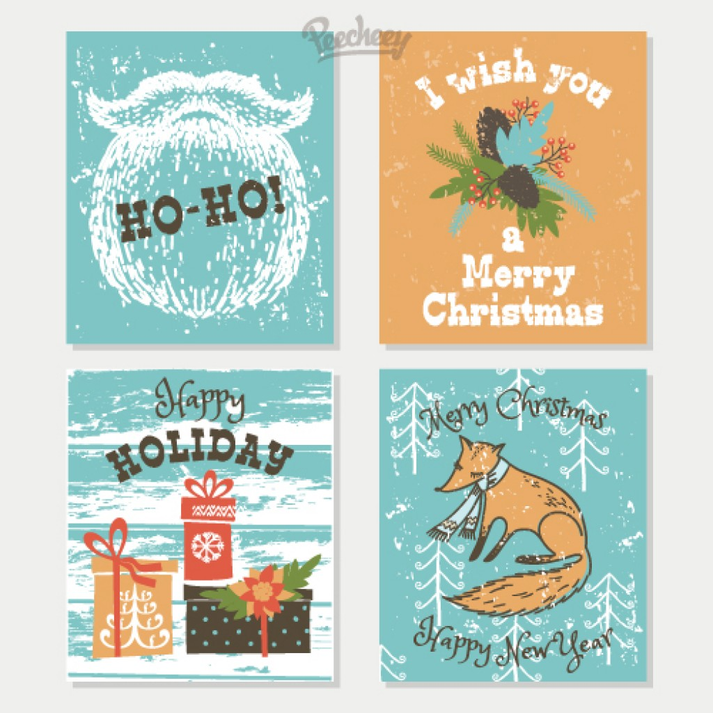Free Holiday Card Designs