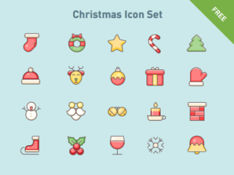 Free Christmas Vector Icons
